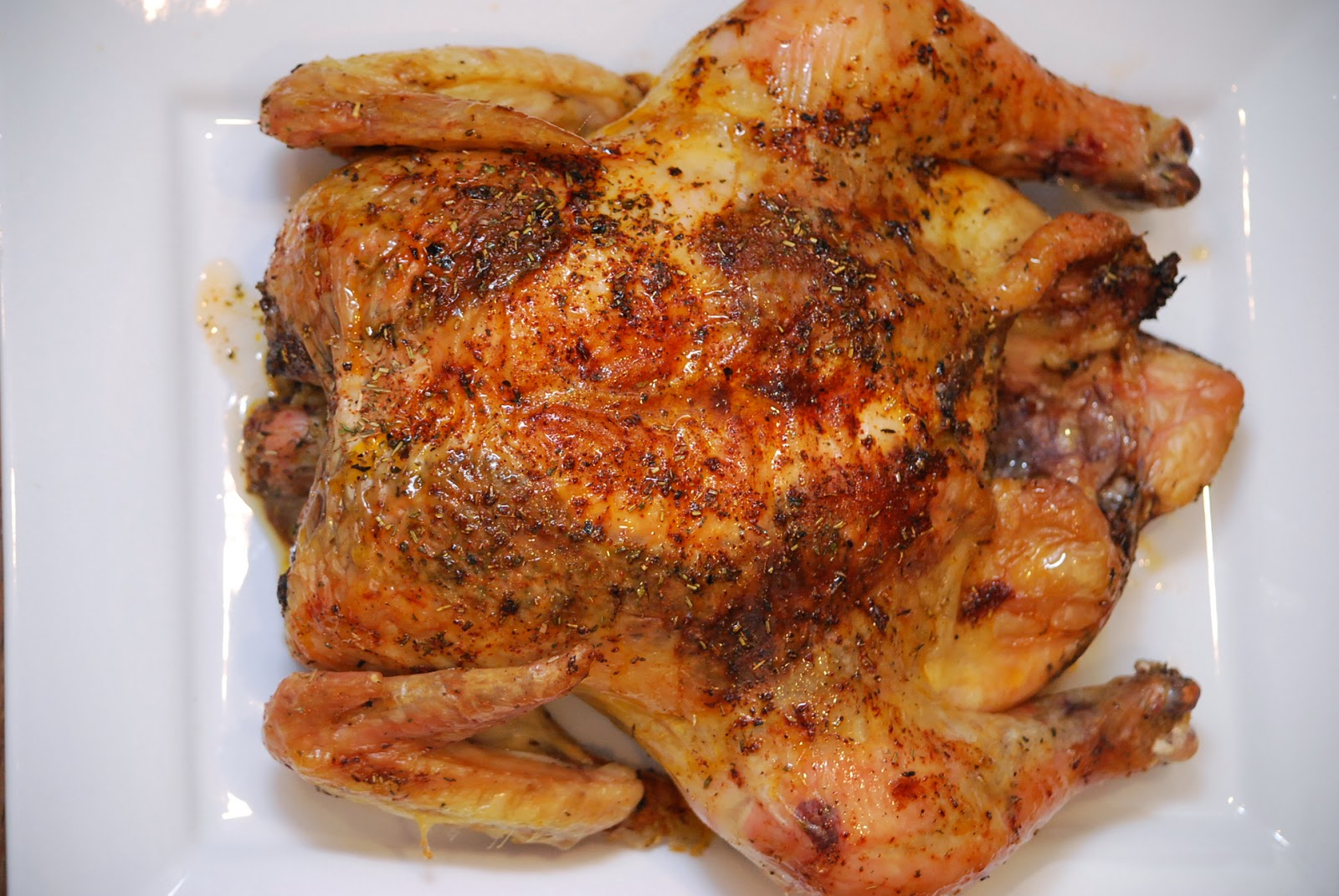My story in recipes: Herb Roasted Chicken
