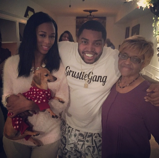 Lil Scrappy and Bambi celebrate Christmas