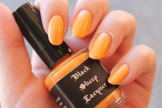 Black Sheep Lacquer Orange Blossom