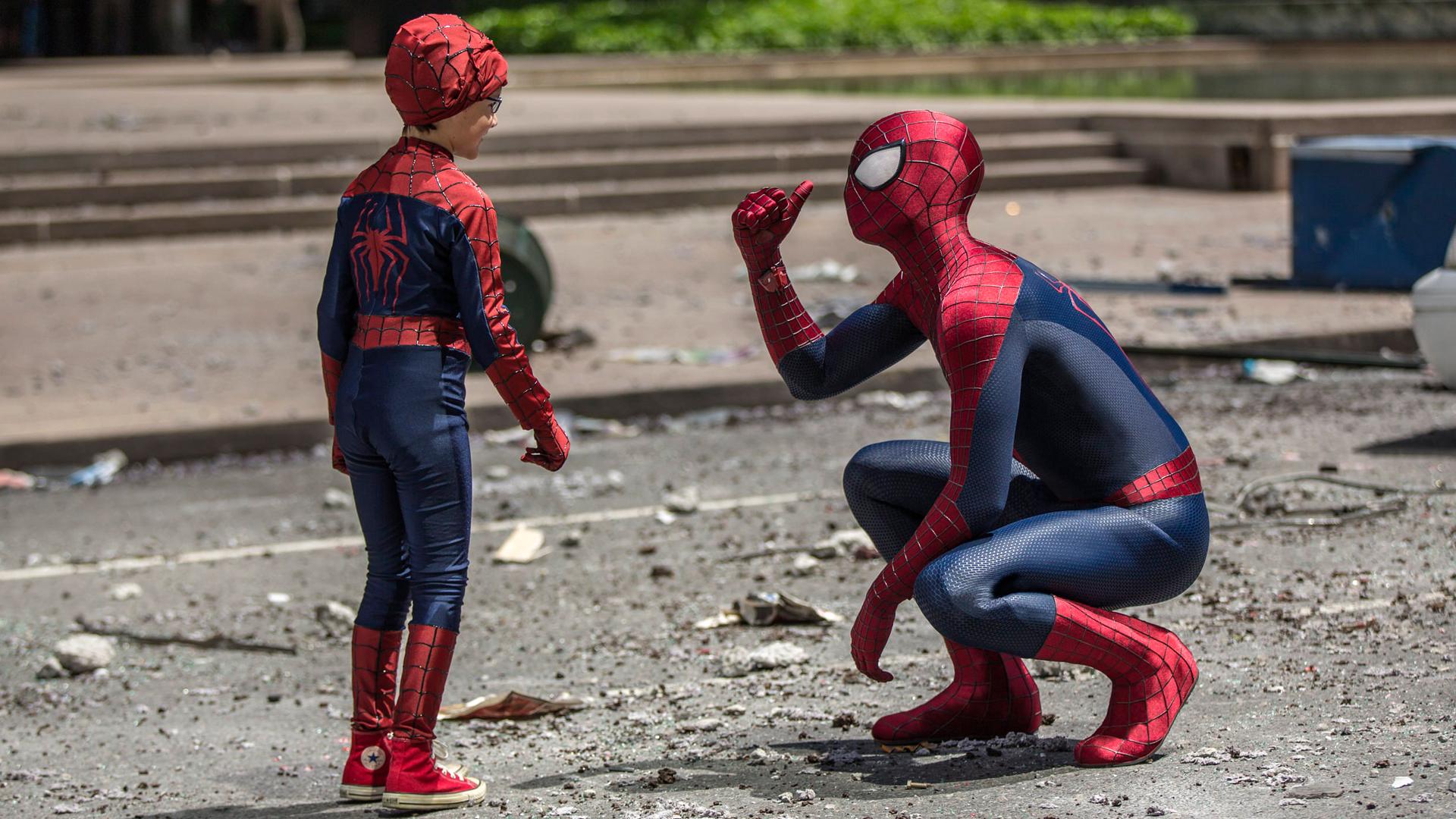 amazing spider-man 2 movie 2b wallpaper hd