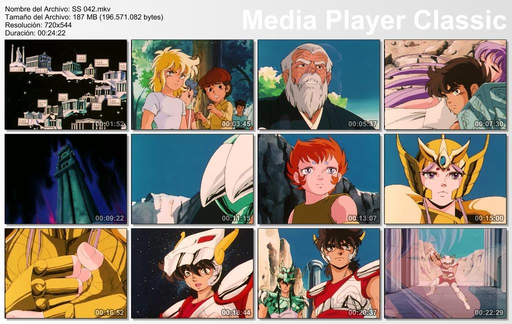 Saint Seiya 1-114 DVD Box rip TK Dual Lat-Jap sub español