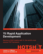Yii Rapid Application Development