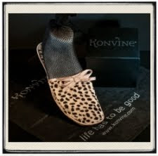 Konvine, Roll-up Flats, Foldable Shoes, Cheetah Slippers, Giveaway
