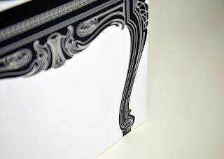 Silla Victoriana en Papel Reciclado, Muebles Eclecticos y Ecoresponsables