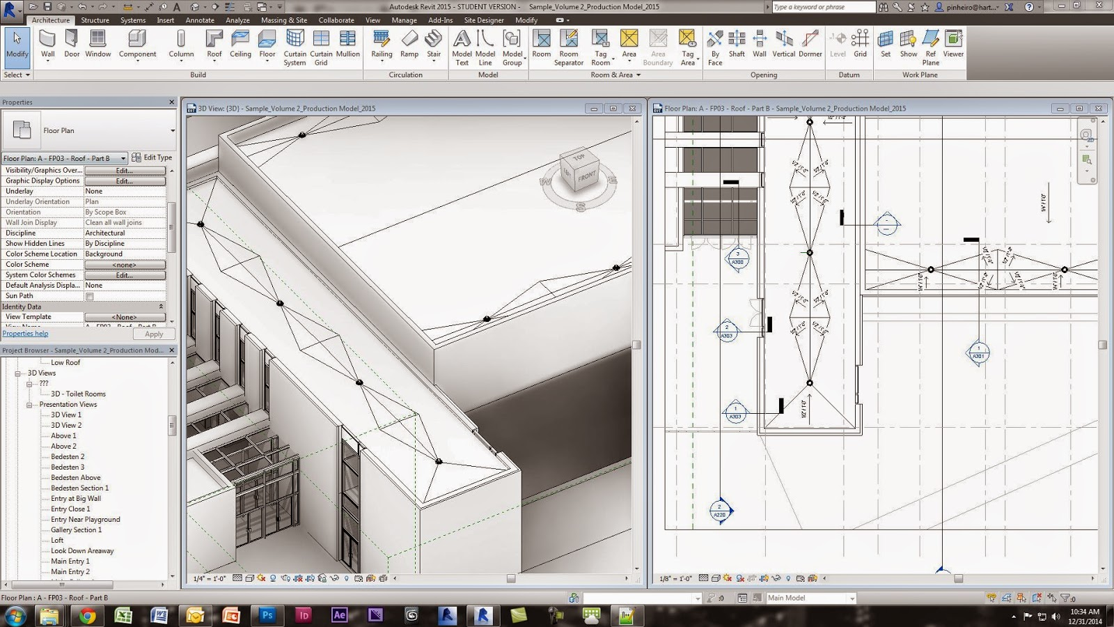 Revit Tutorial   Flat Roof Crickets And Documentation | TheRevitKid.com!    Tutorials, Tips, Products, And Information On All Things Revit / BIM