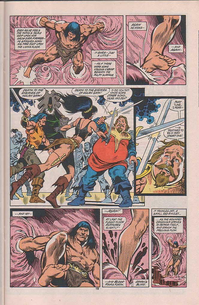 Conan the Barbarian (1970) Issue #253 #265 - English 16