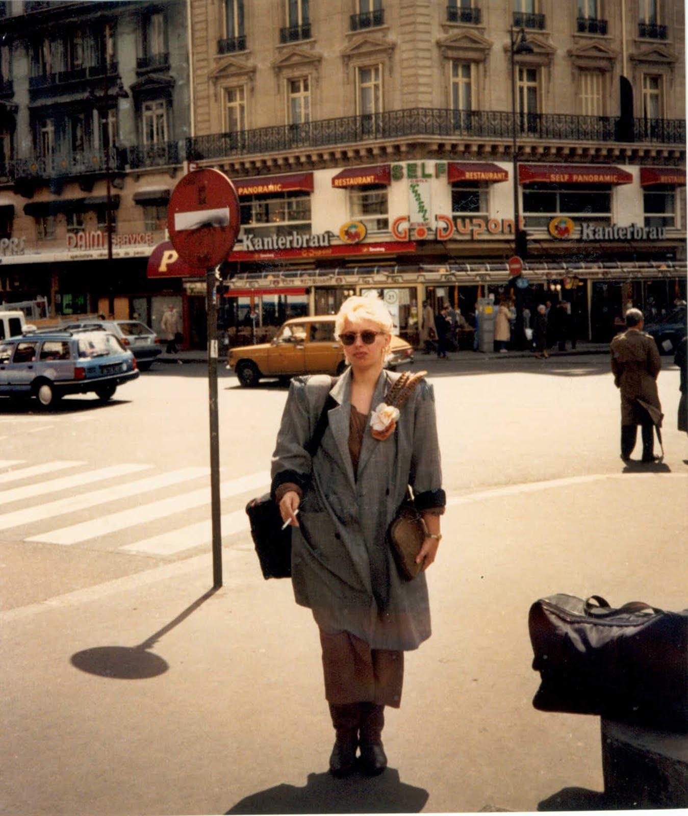 al mio Fashion show a Parigi