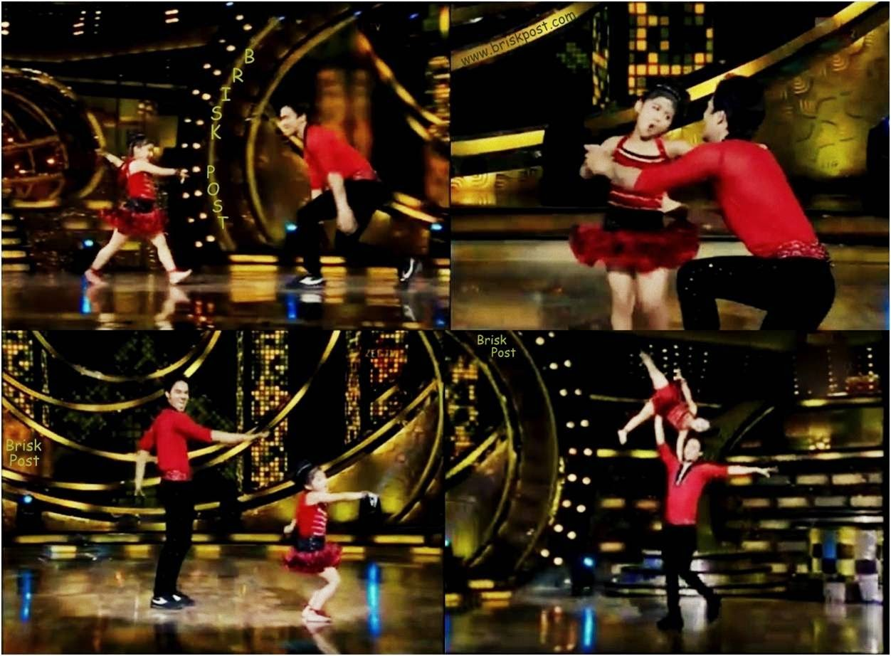 Cute Beauty Anushka from Sanam Ke Superheroes and Dheeraj from DID Season 4  performing at DID Little Masters