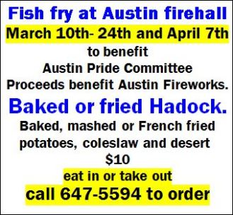4-7 Fish Fry, Austin Fire Hall