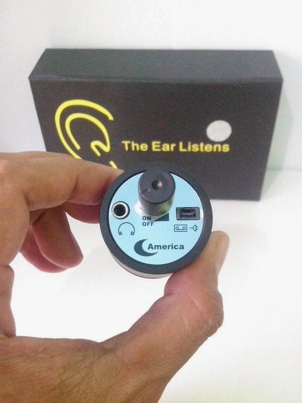 Spy wall ear listener biasanya diperuntukkan untuk memata-matai pembicaraan dibalik dinding dari target yang berada di ruangan sebelah