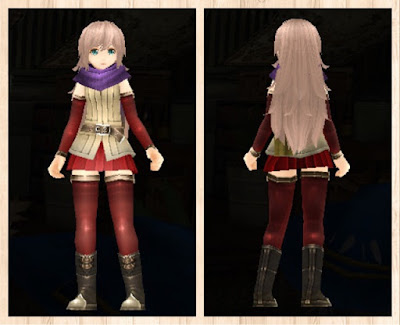 正式版軽量化冒険者の服 赤色2