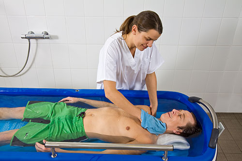 Portable Showers For Disabled People : Mobility products for disabled people shower bath trolley