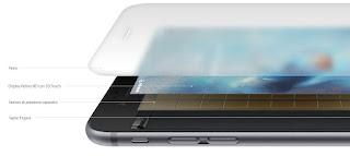 funzioni 3d touch iphone 6s