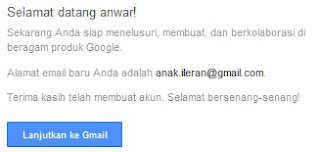 Infokus - Finishing Gmail Result