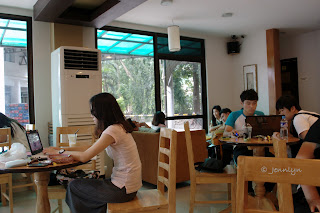 English Cafe, USLS, Bacolod City