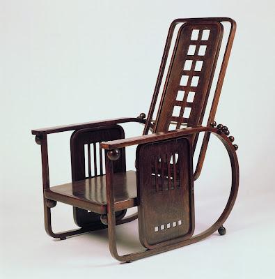 Jozefs Hofmans, Josef Hoffmann, Sitzmaschine Armchair 1905