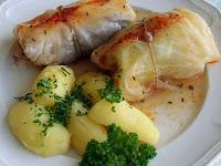 Resep Membuat Kol Gulung Isi Daging Ayam