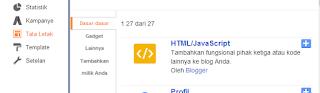 cara mempercantik tampilan menu label blog dengan widget