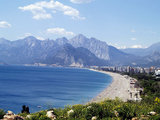 (Turkey) - Konyaalti Beach - Antalya