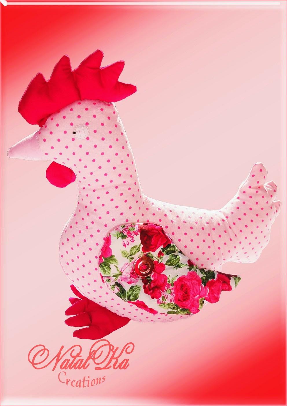 Huhn handgemacht von Natalka Creations