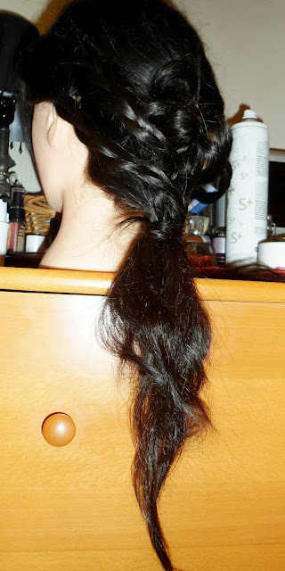 Hairstyle with Braid wedding bridal look
