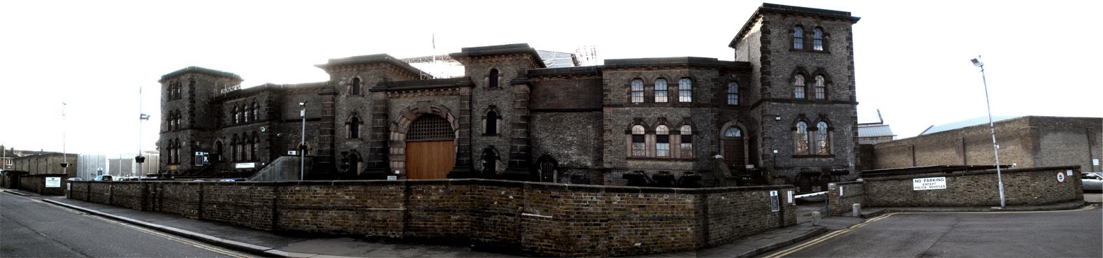 Panoramic view of Wandsworth Prison