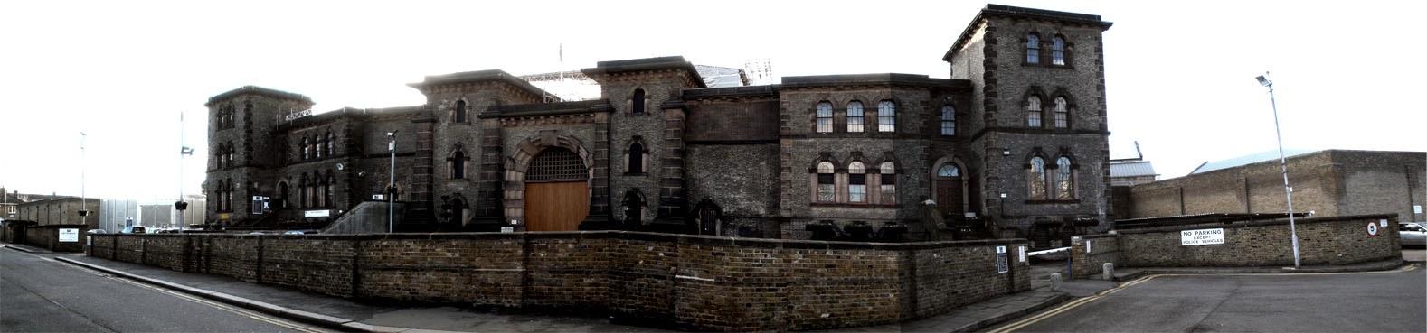 Panoramic view of Wandsworth Prison