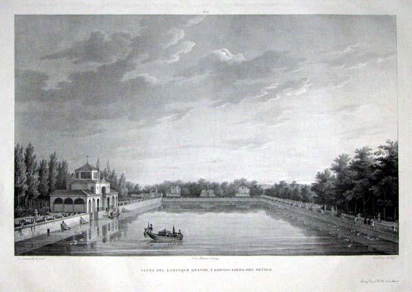 El estanque grande del retiro 2 caminando por madrid Estanque grande
