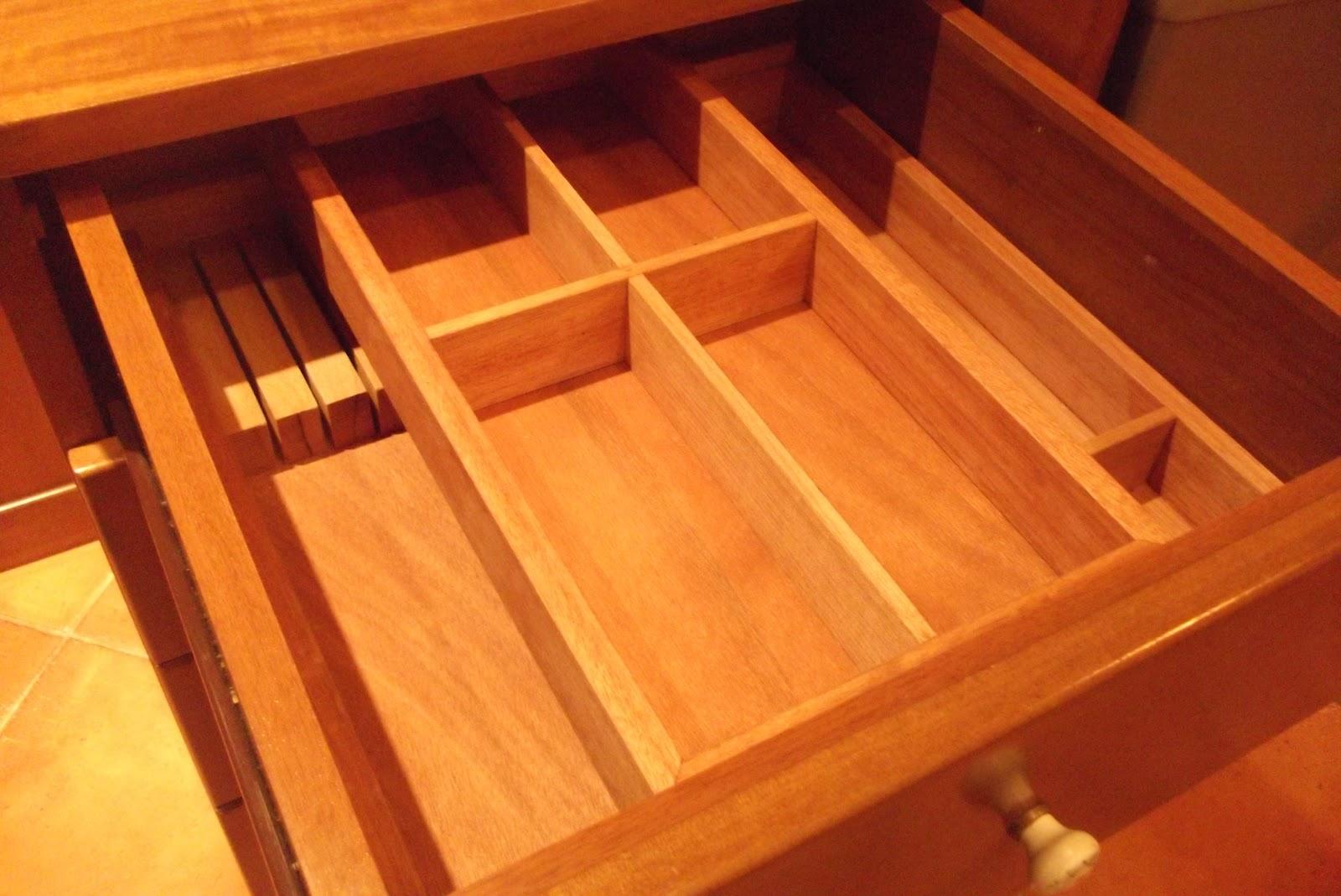 La falegnameria di roberto portaposate - Portaposate per cassetti ...