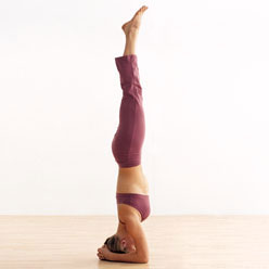 Strange Benefits of Sirsasana (headstand)