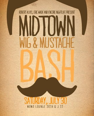 midtown wig & mustache bash