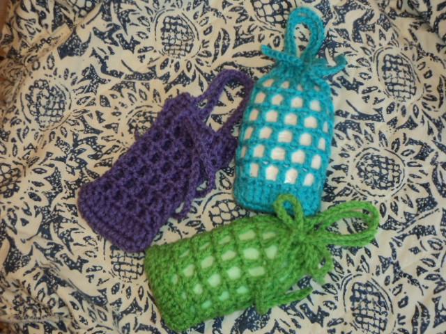 Cute Little Crafts Free Pattern Crochet Net Soap Saver And Body