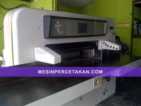 polar 115 emc program ready stocks mesin cetak Polar RS300X Polar RS300X
