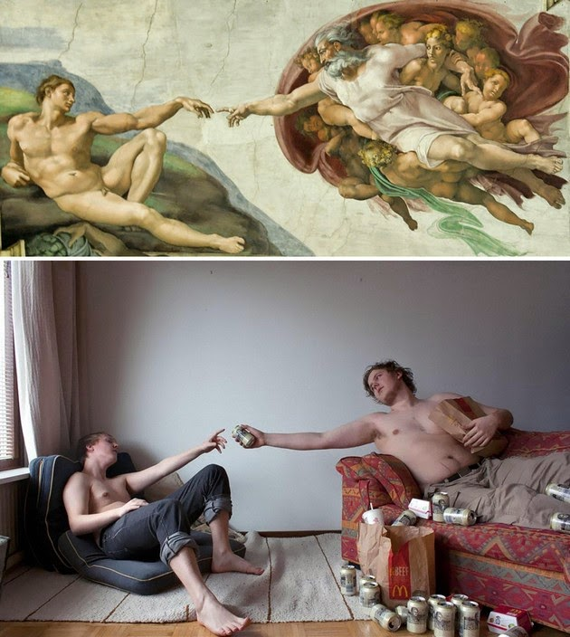 famous paintings reproduced