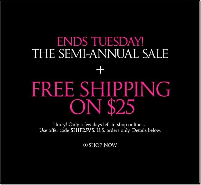 Victoria's secret free shipping coupon code
