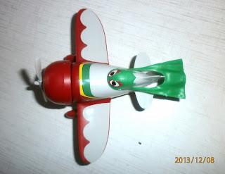 Самолёт Эль Чупакабра из мультфильма Самолёты вид сверху