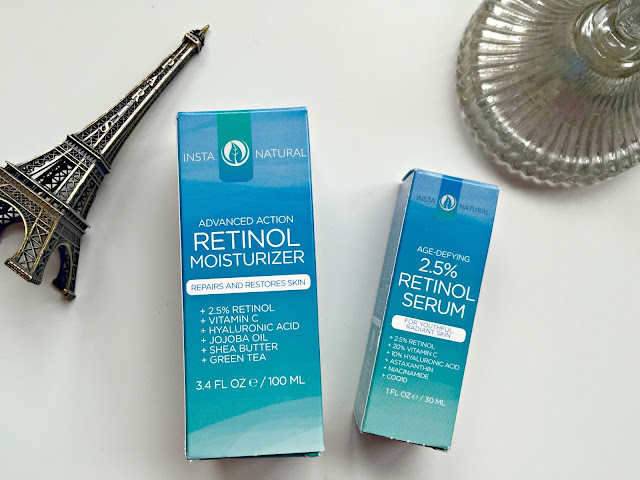 instanatural moisturiser and serum