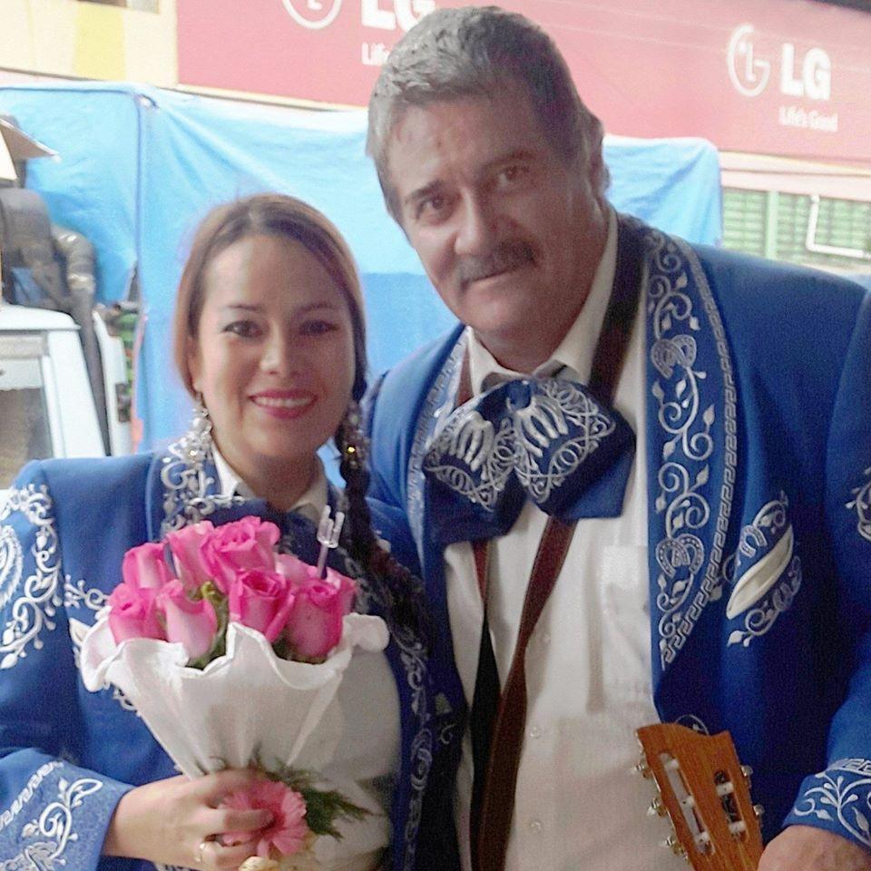 Roxana Justiniano y Guillermo Calabi