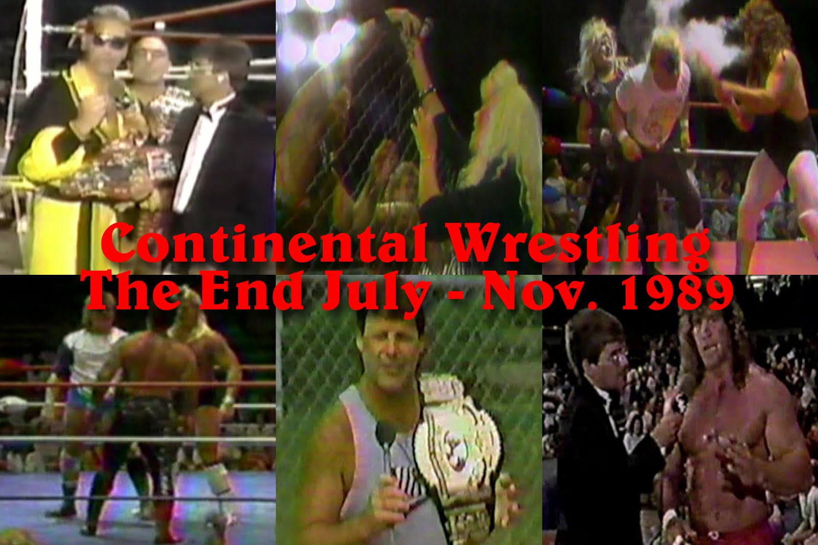 NEW The End of Continental Wrestling