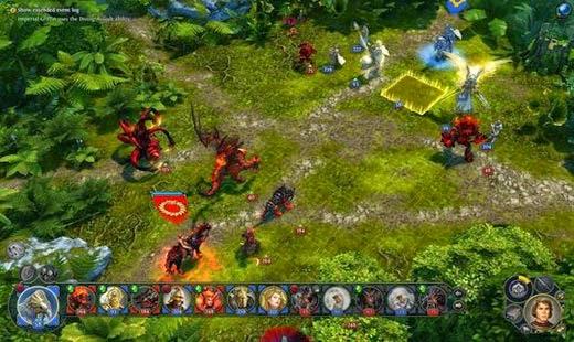 لعبة الحرب الاستراتيجية Might & Magic Heroes 7