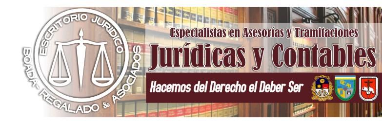 ESCRITORIO JURÍDICO BOADA-REGALADO Y ASOCIADOS