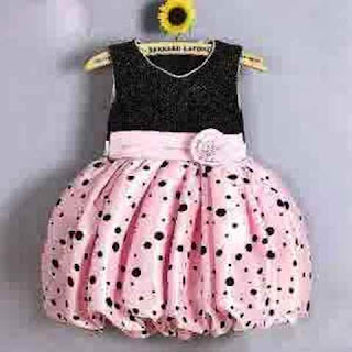 Contoh Baju Anak Perempuan Dress Balon Lucu Terbaru