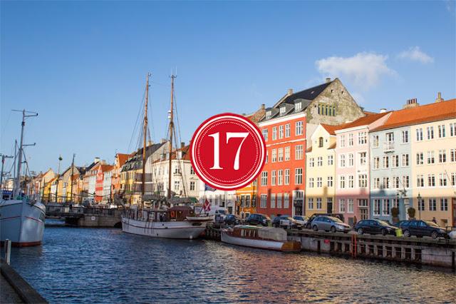 Amalie loves Denmark Nyhavn in Kopenhagen