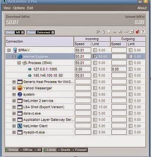 netlimiter software