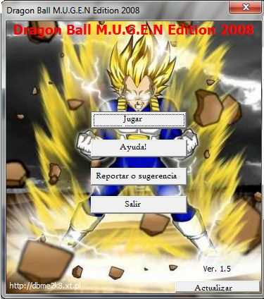 Download Dragon Ball M.U.G.E.N Edition 2008 (PC)