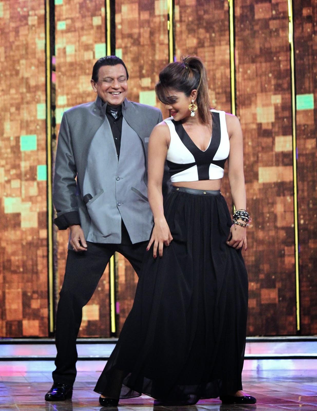 Ranveer, Priyanka & Arjun Kapoor at Promotion of 'Gunday' on Dance India Dance