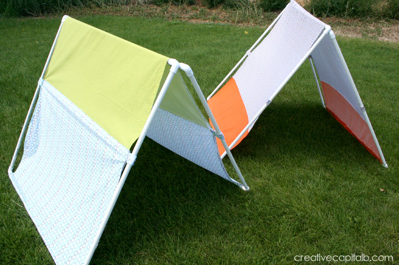 & Capital B: Basic Collapsible Play Tents
