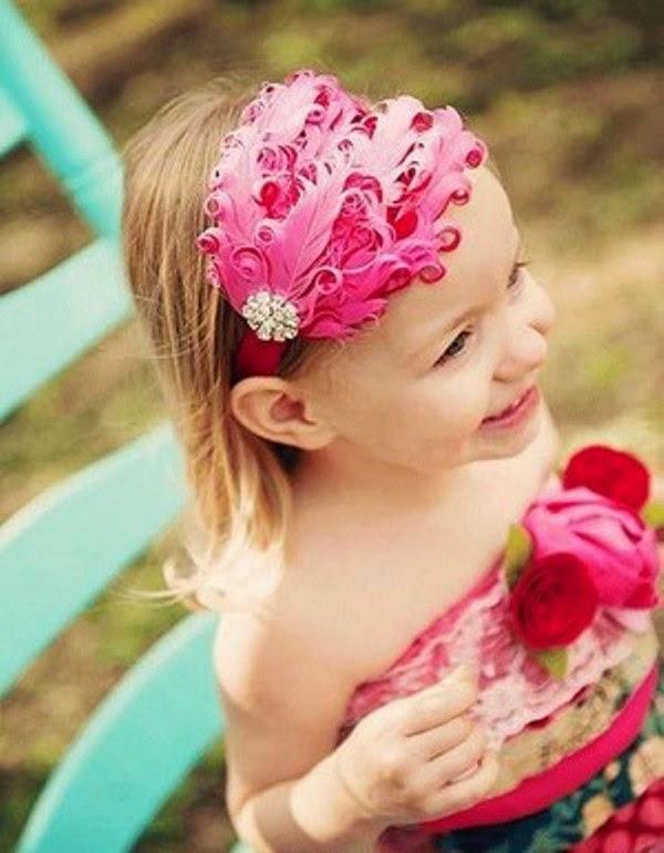 Gambar bandana untuk anak perempuan