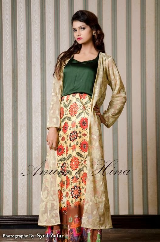 Anum and Hina Eid-Ul-Azha Dresses Collection 2013 For Girls