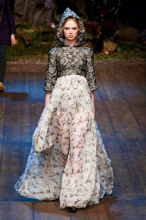 Dolce&Gabbana Herbst-Winter 2014/15 Damenmodenschau